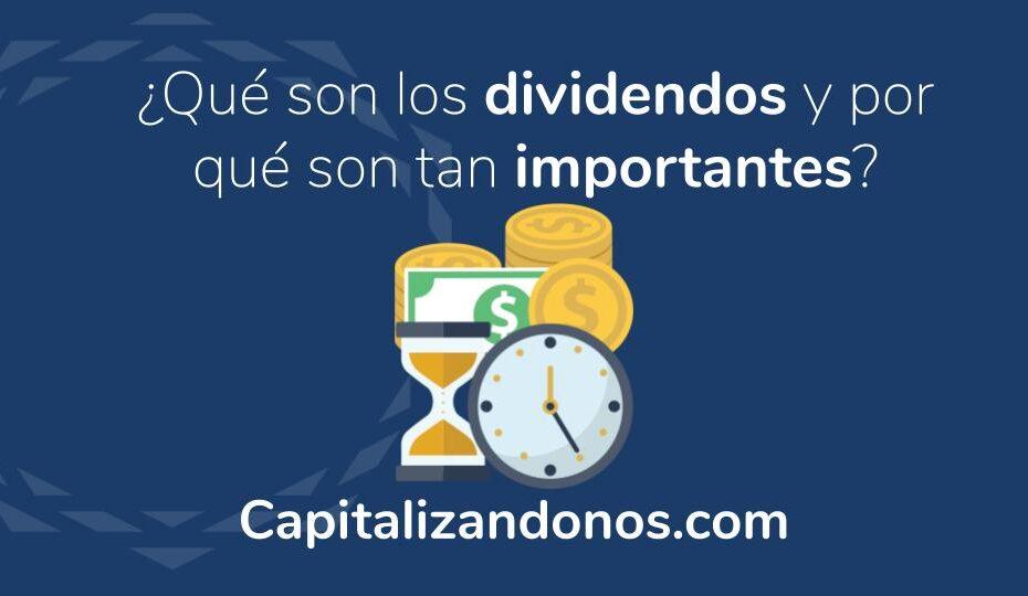 Imagen que muestra una entrada sobre los dividendos