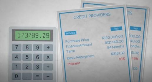 imagen que muestra deudas y una calculadora